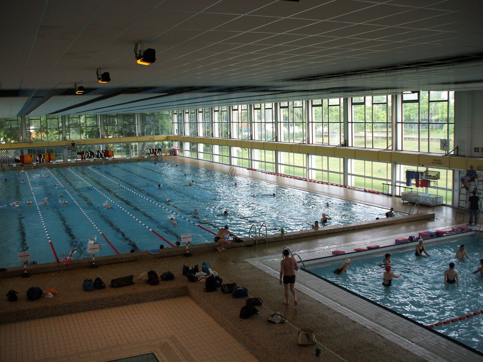 Piscines en moselle for Piscine louviers horaire