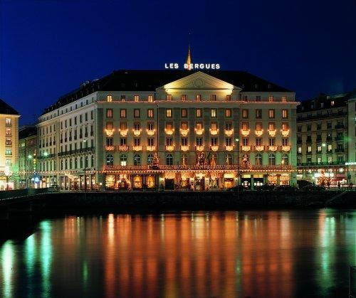 Four Seasons Hotel des Bergues Geneva.