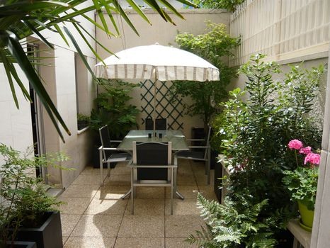 Blog id es d 39 am nagement de terrasse pour profiter du for Idee amenagement terrasse